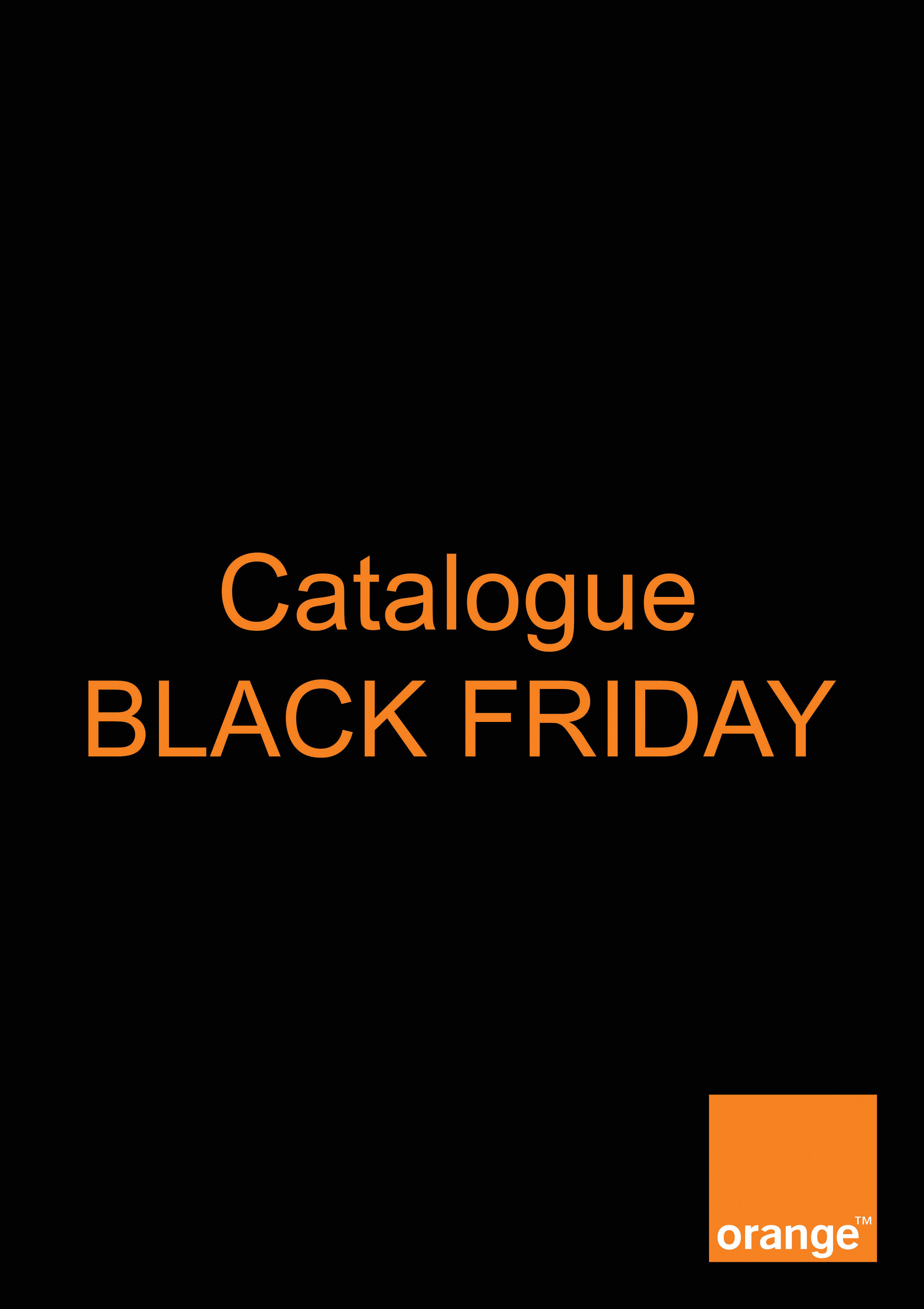 Black Friday chez Orange