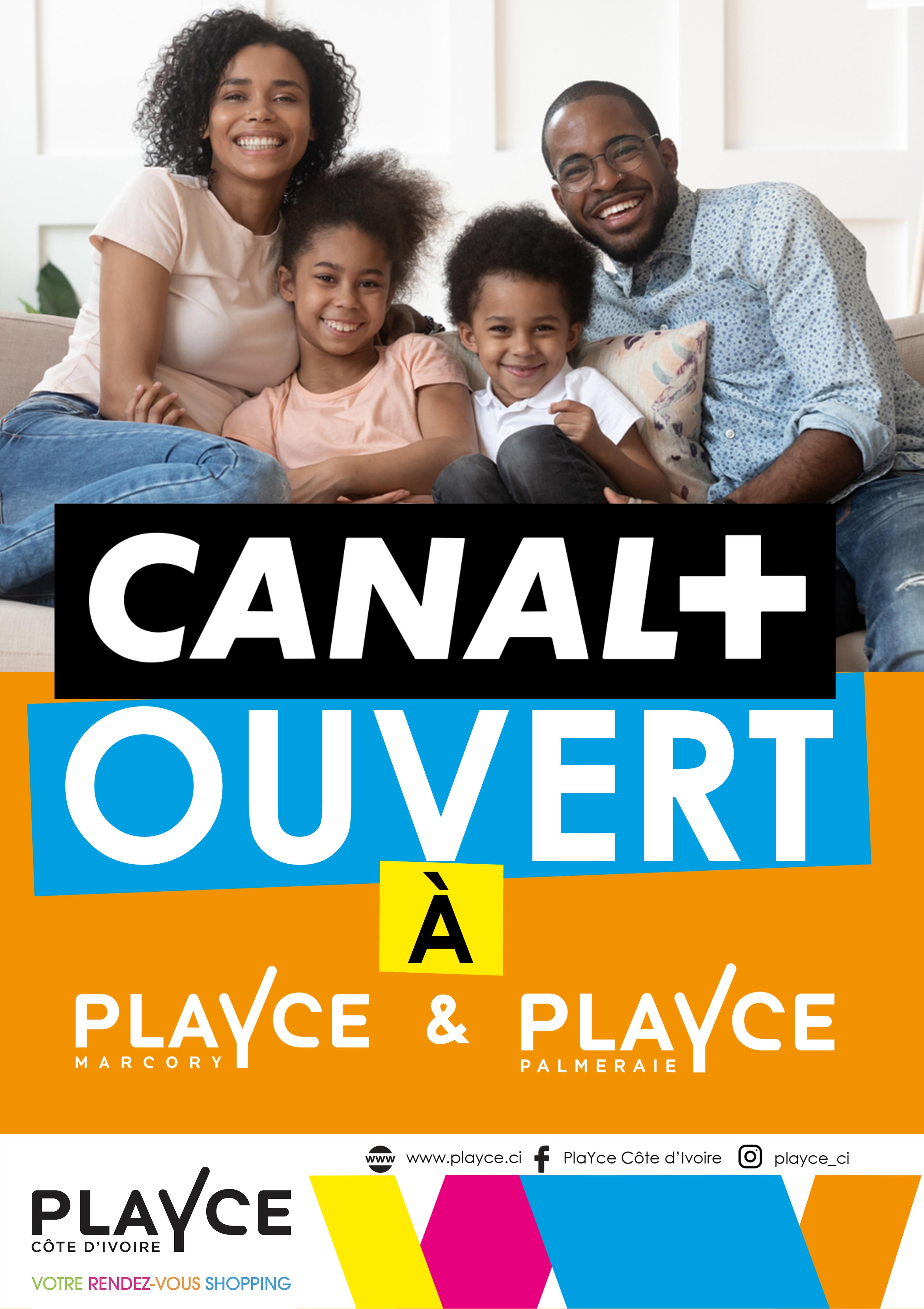 Canal+ ouvert