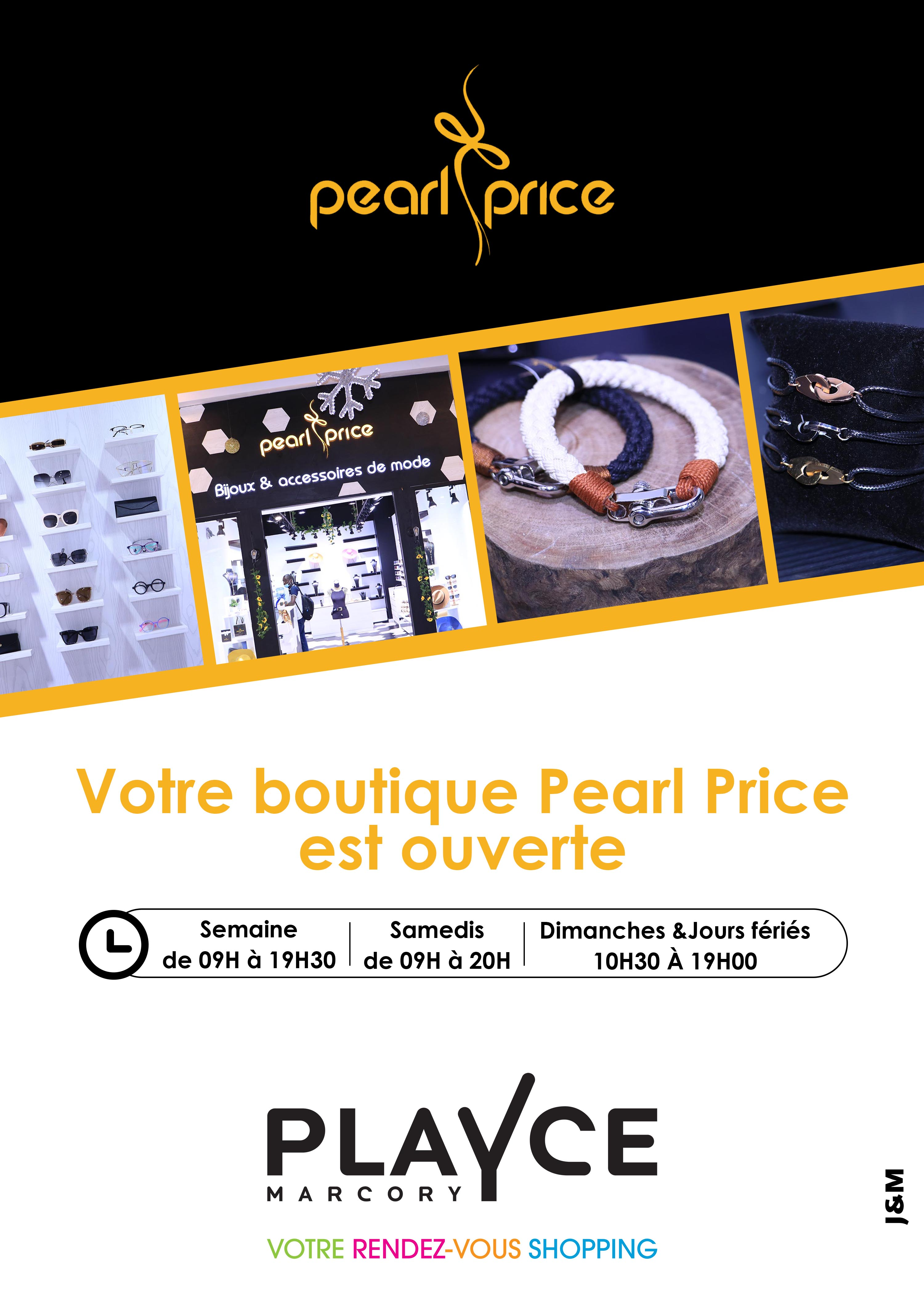 Pearl Price est ouvert